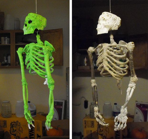 Halloween Party Decorations Ideas - skeleton