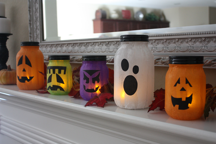 Halloween Party Decorations Ideas - spooky lamps
