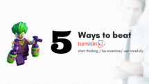 Post 5 ways to beat turnitin